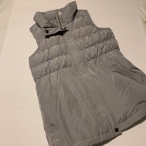J Jill down filled quilter puffer vest